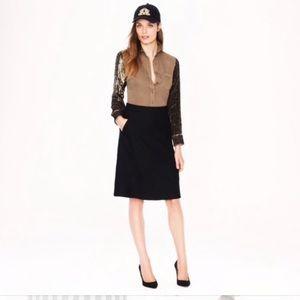 NWT J. Crew A-Line Skirt Size 2